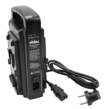 vhbw Cargador, Cable Cargador Dual 220V para baterías de ...