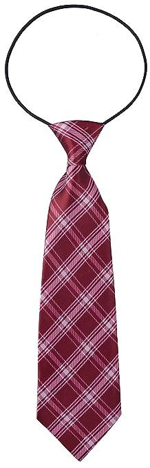 Miobo corbata Niños con cinta de goma flexible azul cobalto X ...