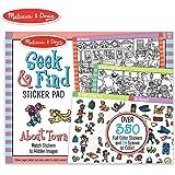 Melissa & Doug Seek & Find Sticker Pad - Around Town Sticker Sets & Activity Pads
