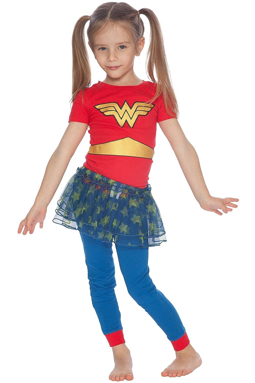 fd55109096be4 Amazon.com: DC Comics Girls' Baby Wonder Woman 'Gold Logo Ballet ...