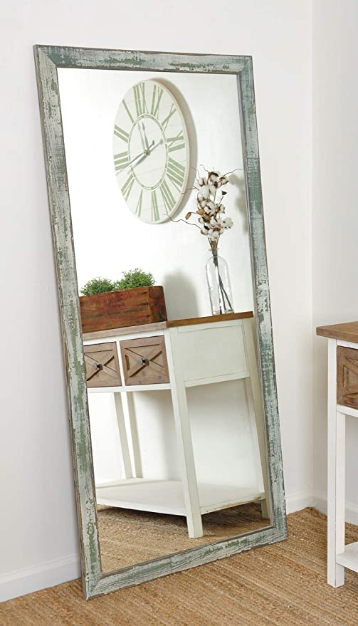 Amazon.com: BrandtWorks Farmhouse - Espejo de suelo: Home ...