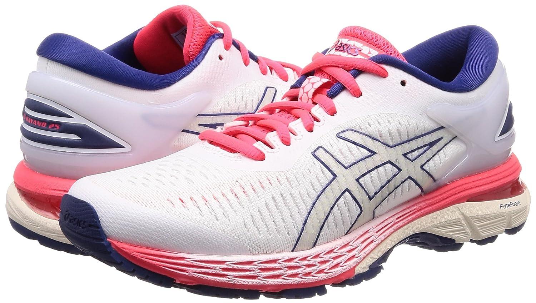 ASICS Gel-Kayano 25 Men's Running Shoe B077MTKDR8 7.5 B(M) US|White/White
