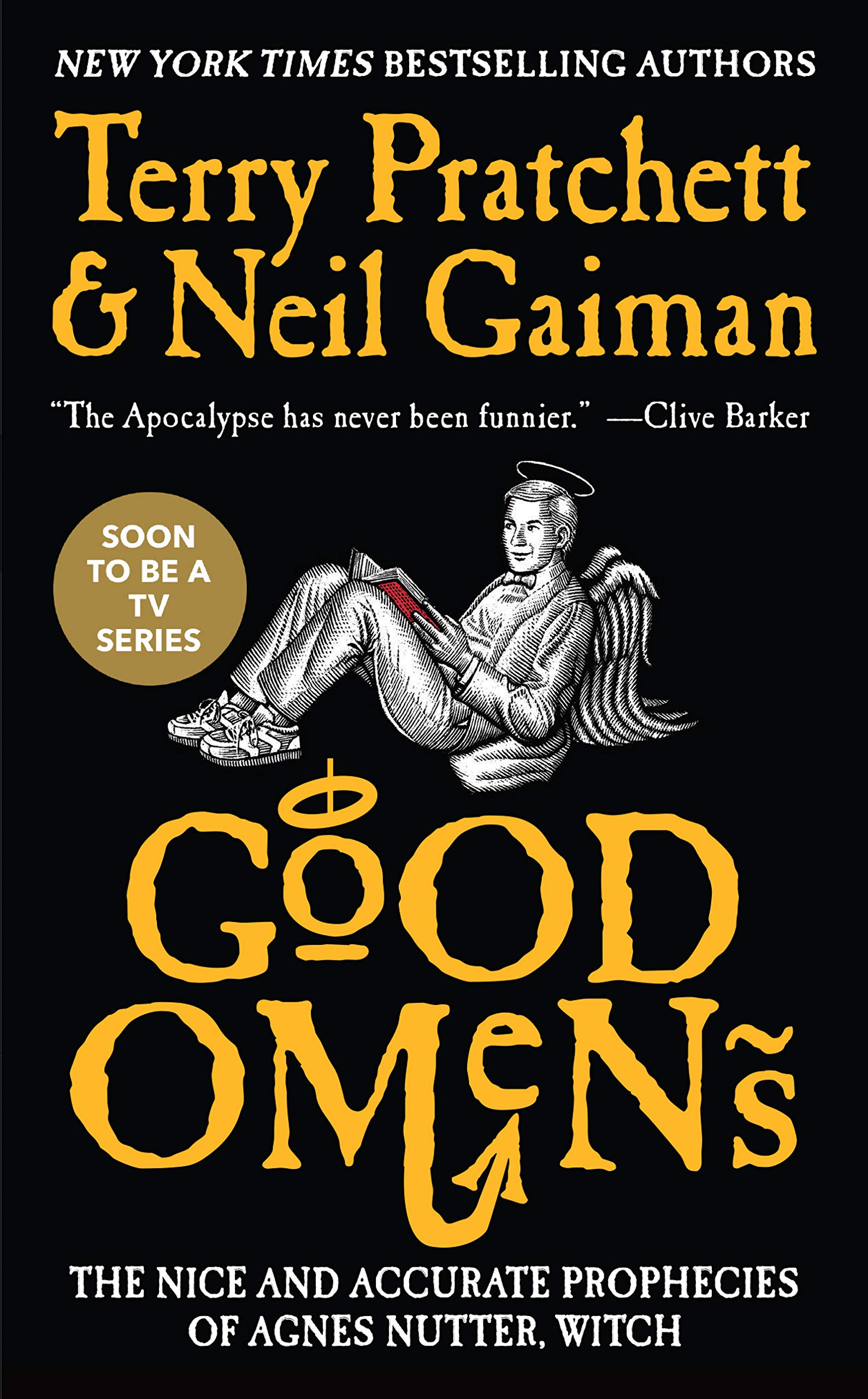 Image result for good omens book cover