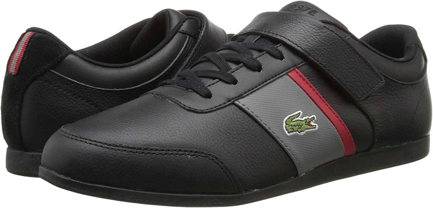 3ee2dcbc47ac03 Lacoste Men s Embrun URS 7-29SRM2020237 BLK DKGRY Size 7.5  Amazon.ca  Shoes    Handbags