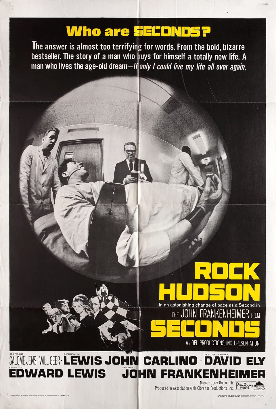 Seconds 1966 U.S. One Sheet Poster at Amazon's Entertainment Collectibles  Store