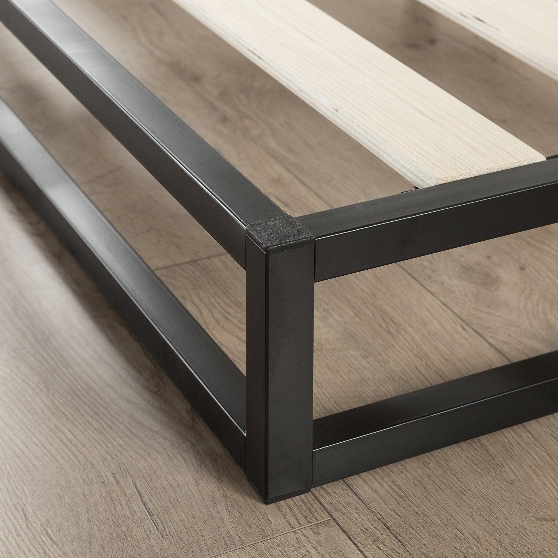 Zinus Modern Studio 6 Inch Platforma Low Profile Bed Frame, Mattress Foundation, Boxspring Optional, Wood slat support, Twin by Zinus (Image #7)