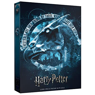 Harry Potter Thestral 1000 Piece Premium Puzzle | Harry Potter Movie Themed Jigsaw Puzzles: Toys & Games