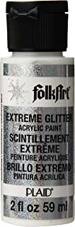 product image for FolkArt Extreme Glitter Acrylic Paint in Assorted Colors (2 oz), 2796, Hologram (XGLT-2796)