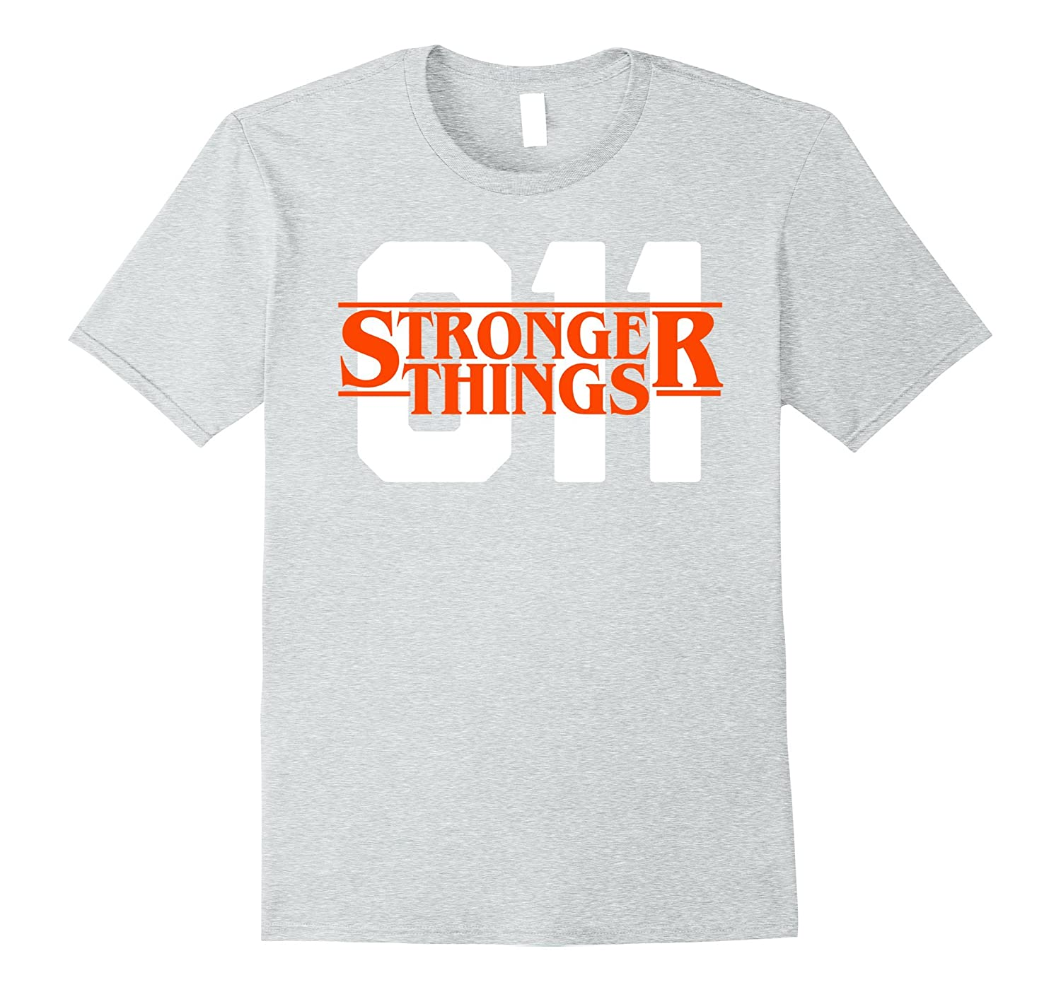 d38572cd Eleven is the Stronger One - T-Shirt-ANZ ⋆ Anztshirt