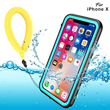 coque iphone x etanche transparente