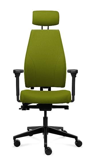 Magna - Silla de oficina, con reposabrazos 4d, color verde ...