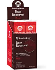 Amazing Grass Drink Powder, Raw Reserve Berry, 15-count Box Of Packets, 0.34kg