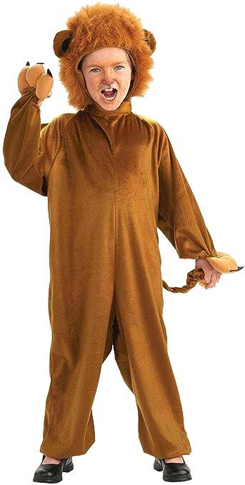 Forum Novelties Cozy Fleece Lion Costume, Child Medium