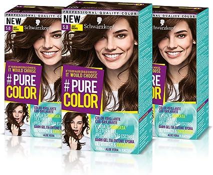 Schwarzkopf Pure Color Tinte Permanente 5.0 Just Brown