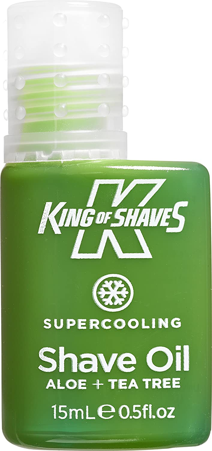 King of Shaves Alpha Shave Oil Cooling 15ml Live in Morrisons