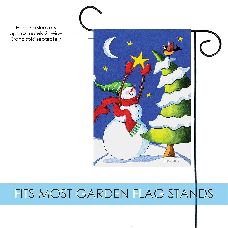 Amazon Toland Home Garden Snowman Star 12 5 x 18 Inch