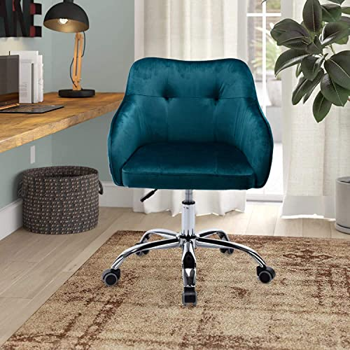 MTFY Upholstered Home Office Desk Chair