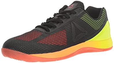 af697624f41f7 Reebok Men s Crossfit Nano 7.0 Cross-Trainer Shoe Vitamin C Solar  Yellow Black