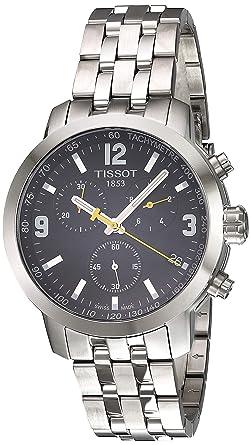 TISSOT RELOJ DE HOMBRE CUARZO 42MM CORREA Y CAJA DE ACERO T0554171105700: Amazon.es: Relojes