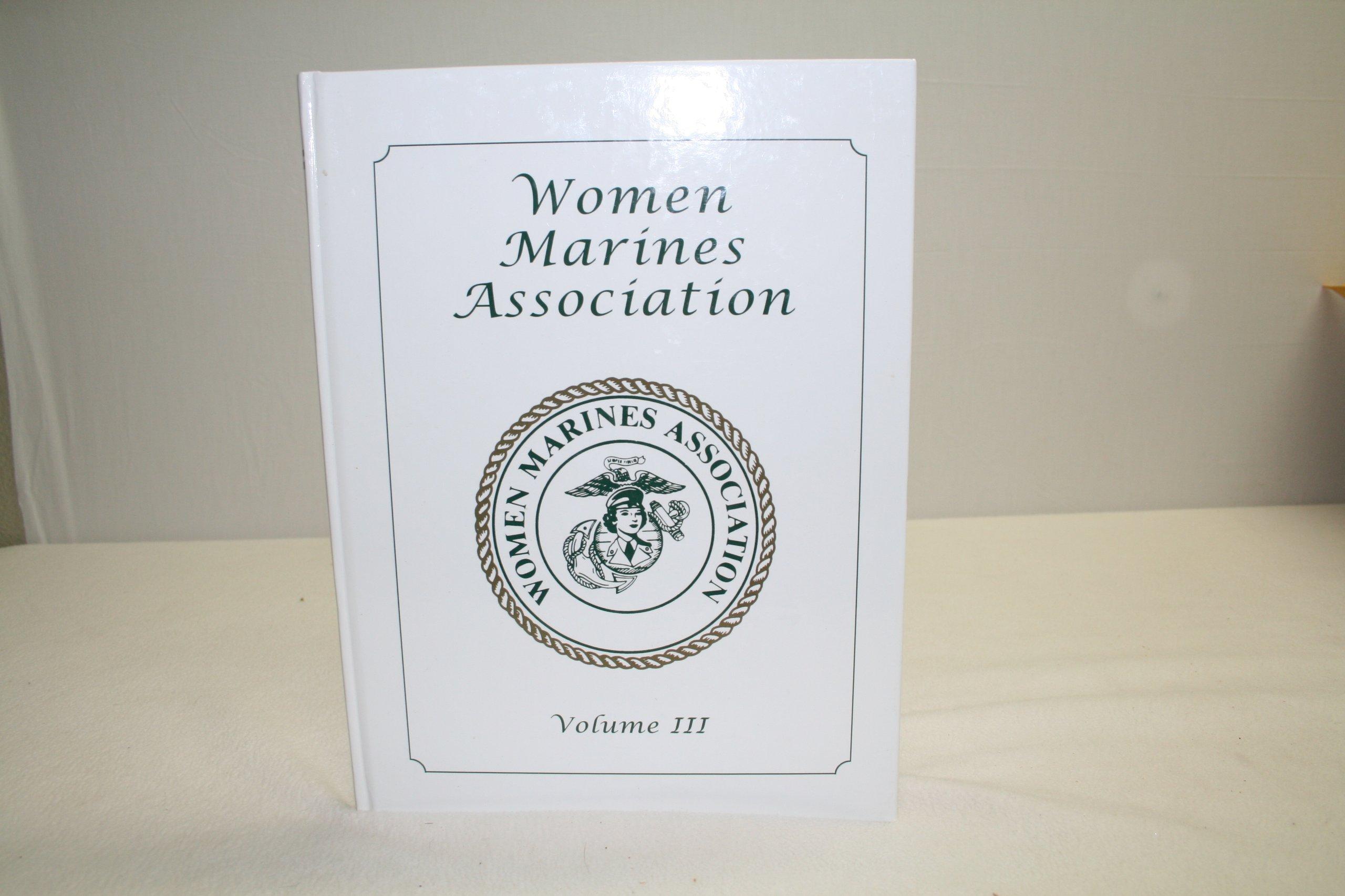 Read Online Women Marines Association, Vol. III PDF