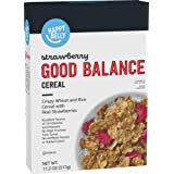 Amazon Brand - Happy Belly Strawberry Good Balance, Berry Flake Cereal, 11.2 Ounce