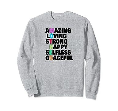 unisex happy mothers day vertical letter text crossword sweatshirt 2xl heather grey