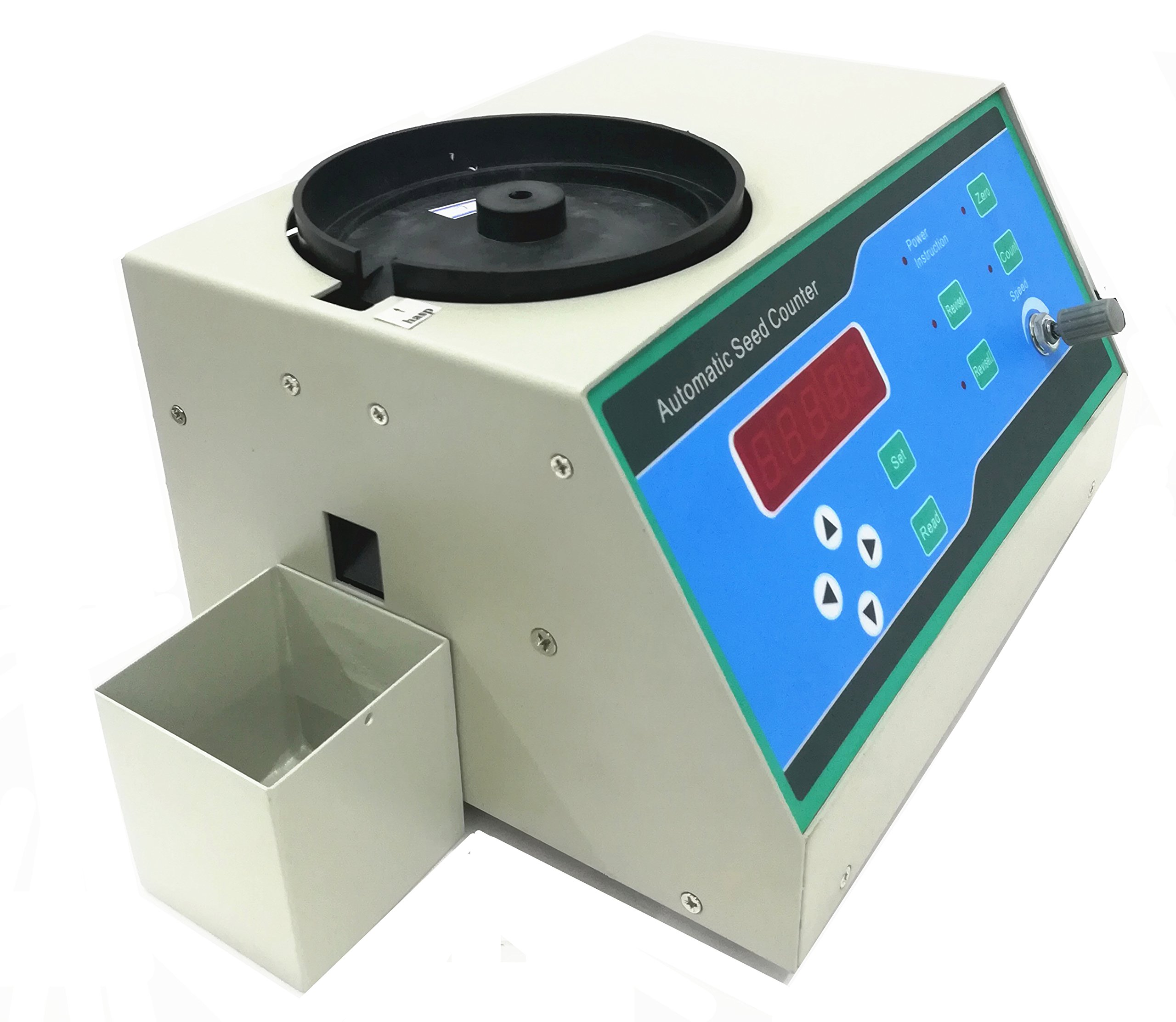 CGOLDENWALL Automatic Seeds Counter Machine for medium and Samall Shapes Seeds Special for small seeds as millet,rape seed,rice, wheat, seed, rape, vegetable, flower, tobacco by CGOLDENWALL (Image #4)