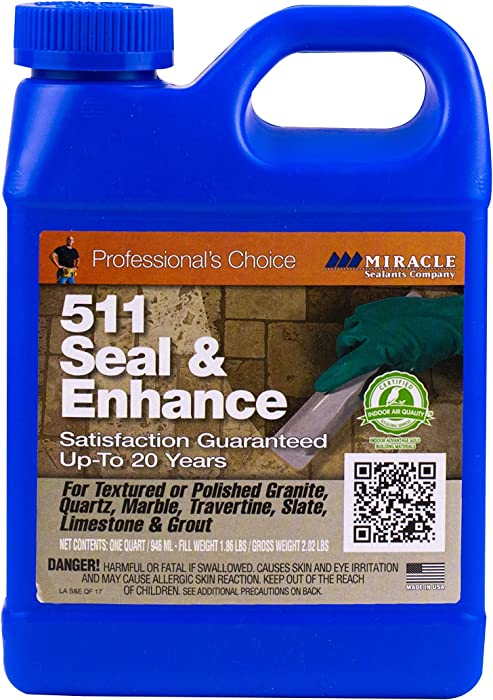 Top 9 Miracle Stone Sealer Enhancer