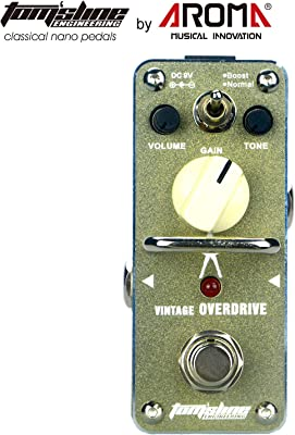 Tom'sline Engineering ARG3S Vintage Overdrive Pedal