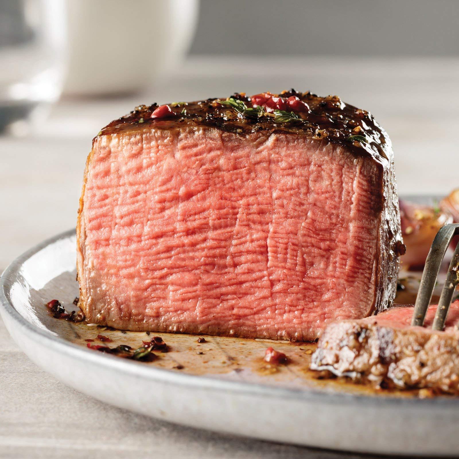 Omaha Steaks 4 (4 oz.) Triple-Trimmed Filet Mignons