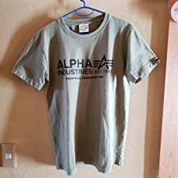 Amazon アルファ インダストリーズ Tシャツ 公式 半袖 プリントtシャツ A Mark メンズ Tc1345 04 Heather Gray 日本 M 日本サイズm相当 Tシャツ カットソー 通販