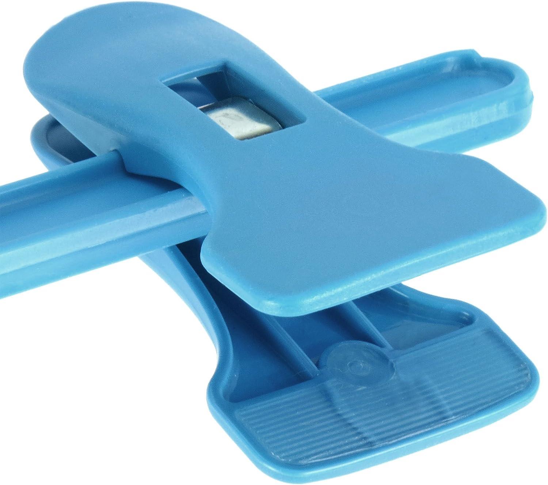 Hangerworld Lot de 10 cintres /à Pinces en Plastique pour Enfant et b/éb/é Bleu