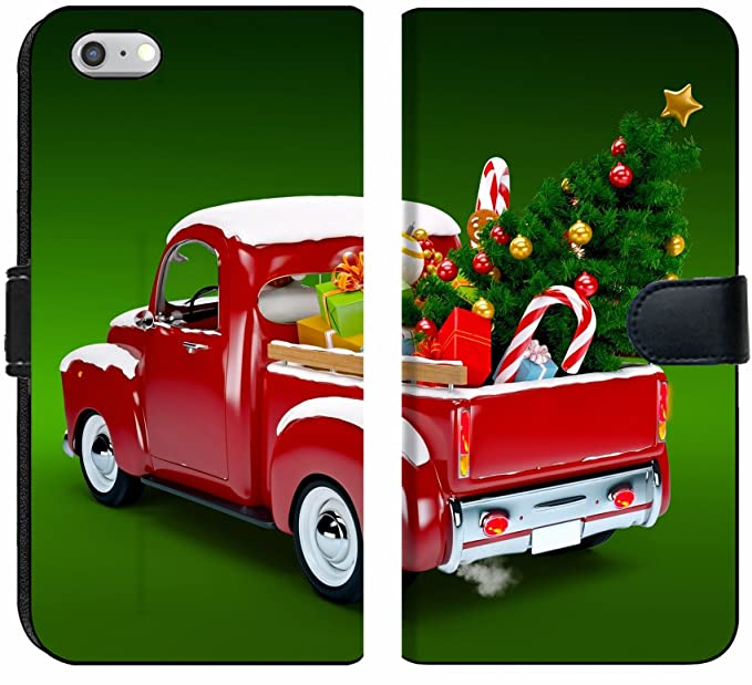 apple iphone 6 and iphone 6s flip fabric wallet case image id 23915278 christmas background pickup