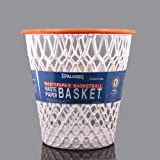 "Spalding Basketball Net ""Crunch Time"" NBA Design Spalding Wastebasket White One Size"