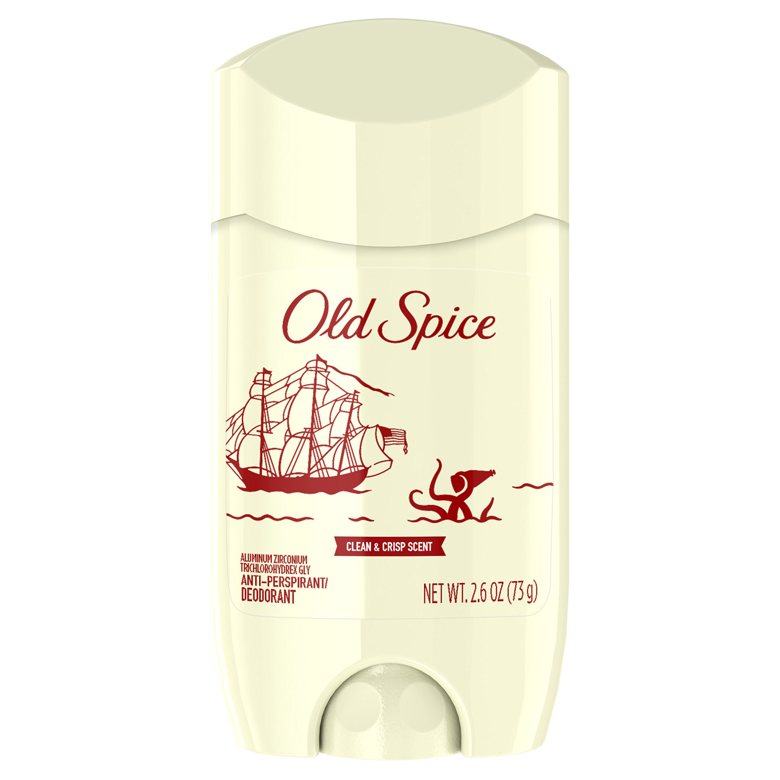 Old Spice 80th Anniversary Limited Edition Invisible Solid Antiperspirant and Deodorant for Men, 2.6 Ounce (Pack of 12)