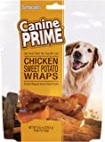 Sergeant's Canine Prime Chicken Sweet Potato Wraps for Dogs, 8 oz