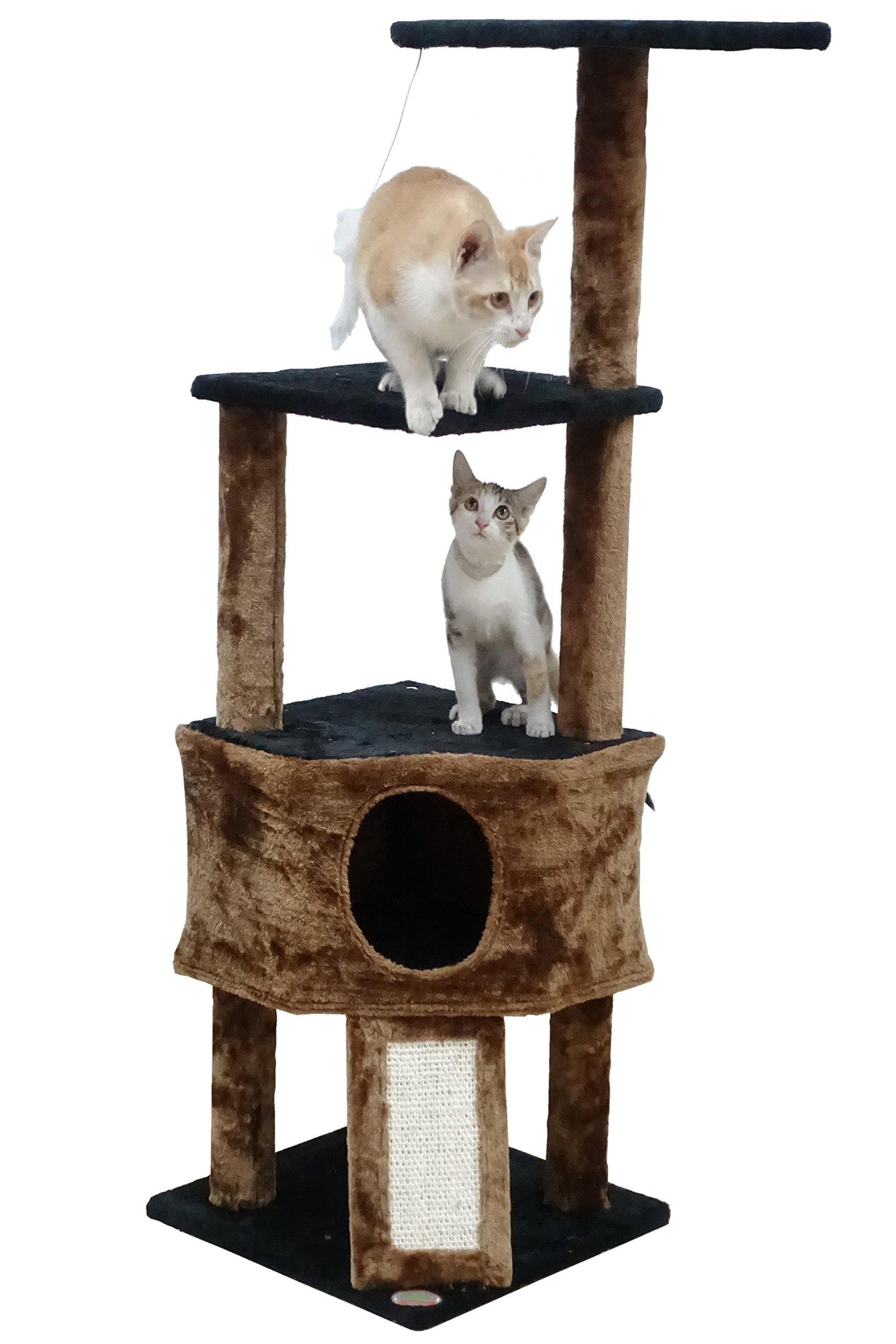 Go Pet Club F707 46'' Kitten Tree