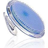 Exfoliating Brush - Body Brush for Legs Bikini Line Armpit - Ideal for Ingrown Hair Treatment - Eliminate Razor Bumps Fast - Body Exfoliator for Men and Women - Shaving Irritation Solution by SanDine