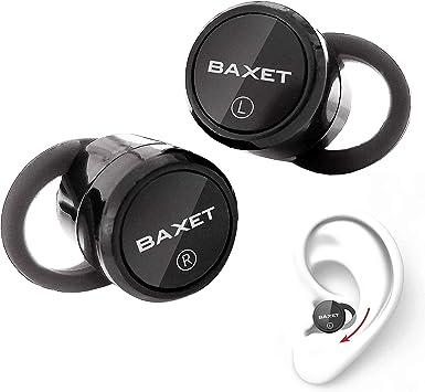 Auriculares inalambricos Deporte | Dos Mini Auriculares Bluetooth | Caja de Carga Alto Rendimiento 7h de música Non Stop 120h Standby | Auriculares para Correr Bluetooth 5.0 con cancelación de ruído: Amazon.es: Electrónica
