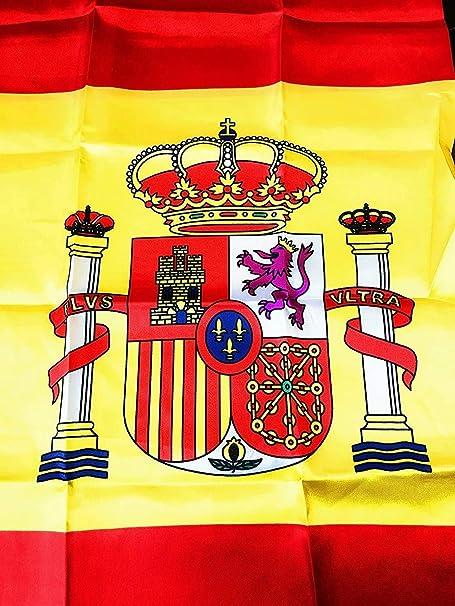 Durabol Bandera de Historia España (España con Escudo): Amazon.es ...