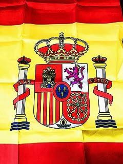 Grand Bandera de España Toro 150*90 cm Satén Durabol .: Amazon.es ...