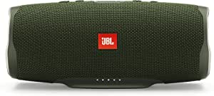 JBL Charge 4 Portable Bluetooth Speaker and Power Bank with Rechargeable Battery for More Devices – Waterproof – Green