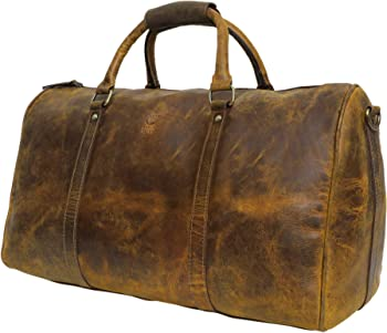Rustic Town Handmade Leather Luggage