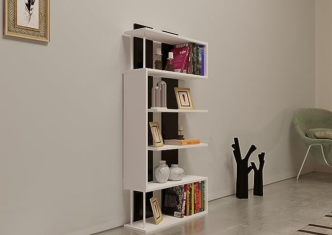 Homidea core bibliothèque Étagère de rangement Étagère pour