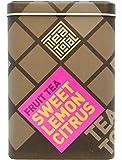 Tea total (ティートータル) / レモン シトラス 100g入り缶タイプ ニュージーランド産 (フルーツティー / フレーバーティー / ノンカフェイン / ドライフルーツ) 【並行輸入品】