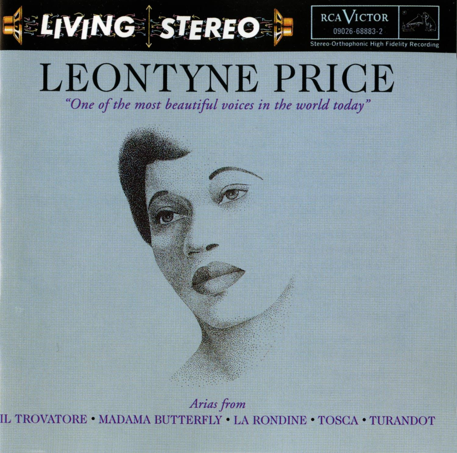 Leontyne Price: Arias from Verdi and Puccini