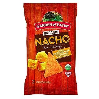 Garden of Eatin' Nacho Cheese Corn Tortilla Chips, 5 oz. (Pack of 12)