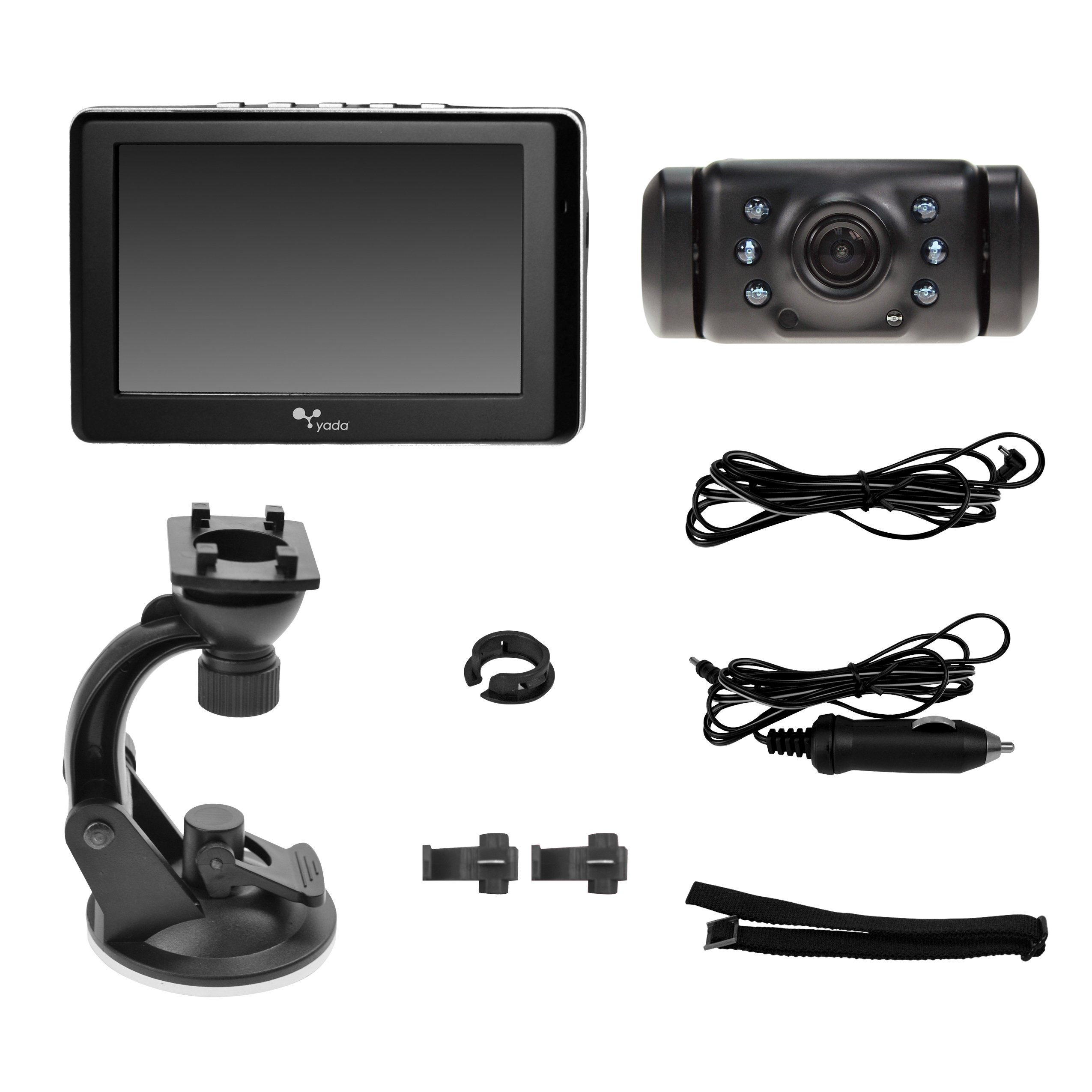 Yada Digital Wireless Backup Camera with 4.3'' Dash Monitor (BT53328M-1) by Yada