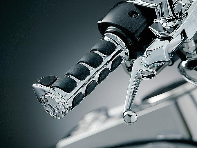 "DUILU Motorcycle Hand Grips 1/"" Handlebar for Harley Sportster Grip"