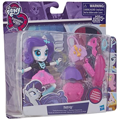 My Little Pony Equestria Girls Rarity Trendy Accessories Shop Set: Toys & Games